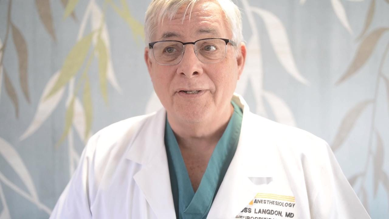 Dr. Russ Langdon talks about UT's Medical Center's new Neurocritical Care Unit.