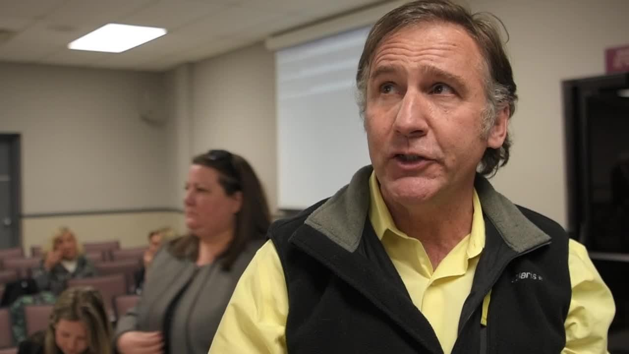 "Williamson County Director of Schools Dr. Mike Looney says election was a ""huge victory tonight for the commission's plan for the school district."""