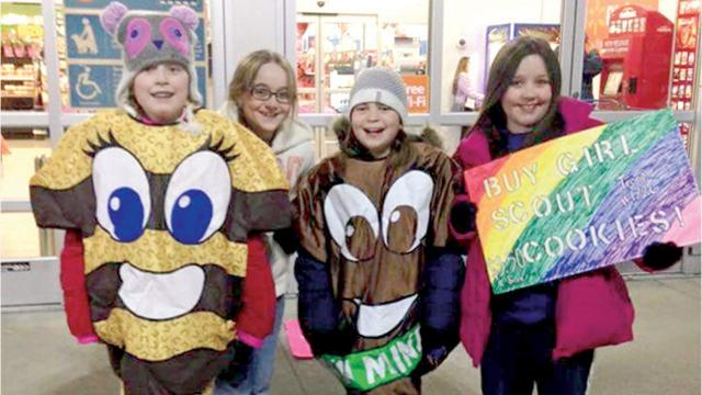 Girl Scout Cookies arrive in Middle Tennessee with booth sales beginning this weekend