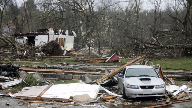 In 2008, a tornado tore through Tennessee, leveling homes and buildings and killing 31 people.