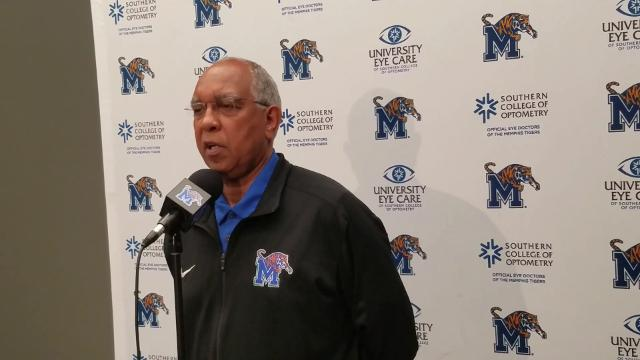 Memphis Coach Tubby Smith previews the Tigers' game vs. UCF and how vital it could be for the morale of the team.
