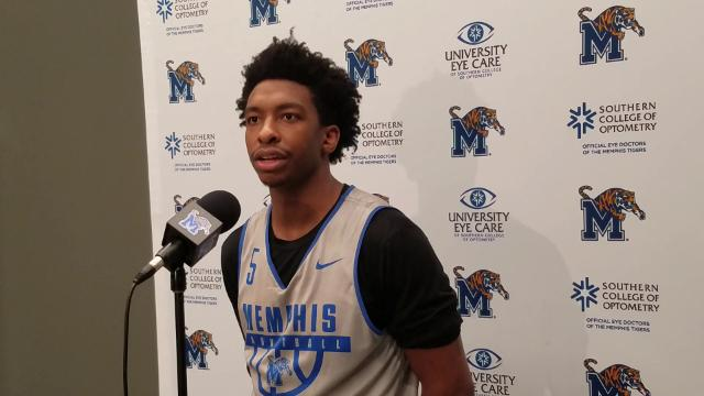 Memphis G Kareem Brewton Jr. discusses how the Tigers can recover during the stretch run of the season.