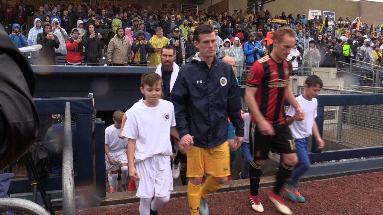 Nashville SC players make first entry at First Tennessee Park