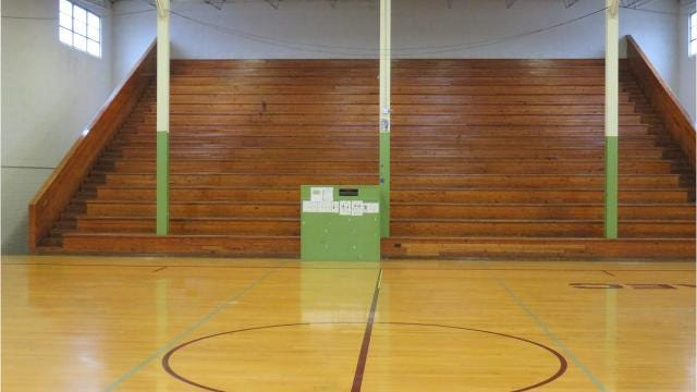 The old Bearden High gym is now used at the Knoxville Adaptive Education Center.