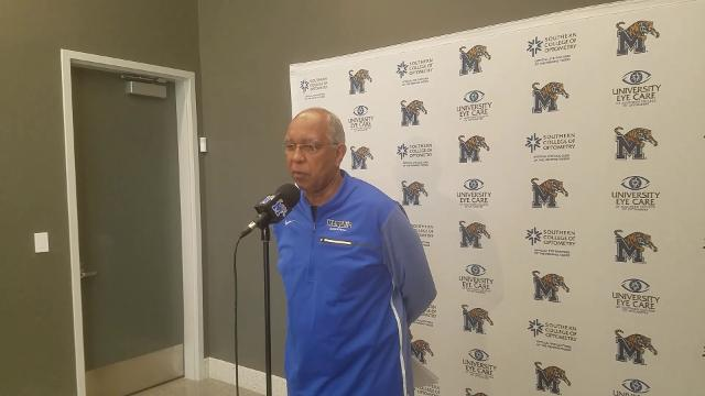 Memphis Coach Tubby Smith previews the Tigers' game at SMU and discusses the status of PG Jeremiah Martin