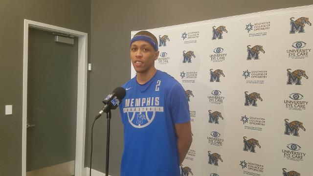 Memphis captain Jimario Rivers details how the Tigers can emerge from their recent losing skid.