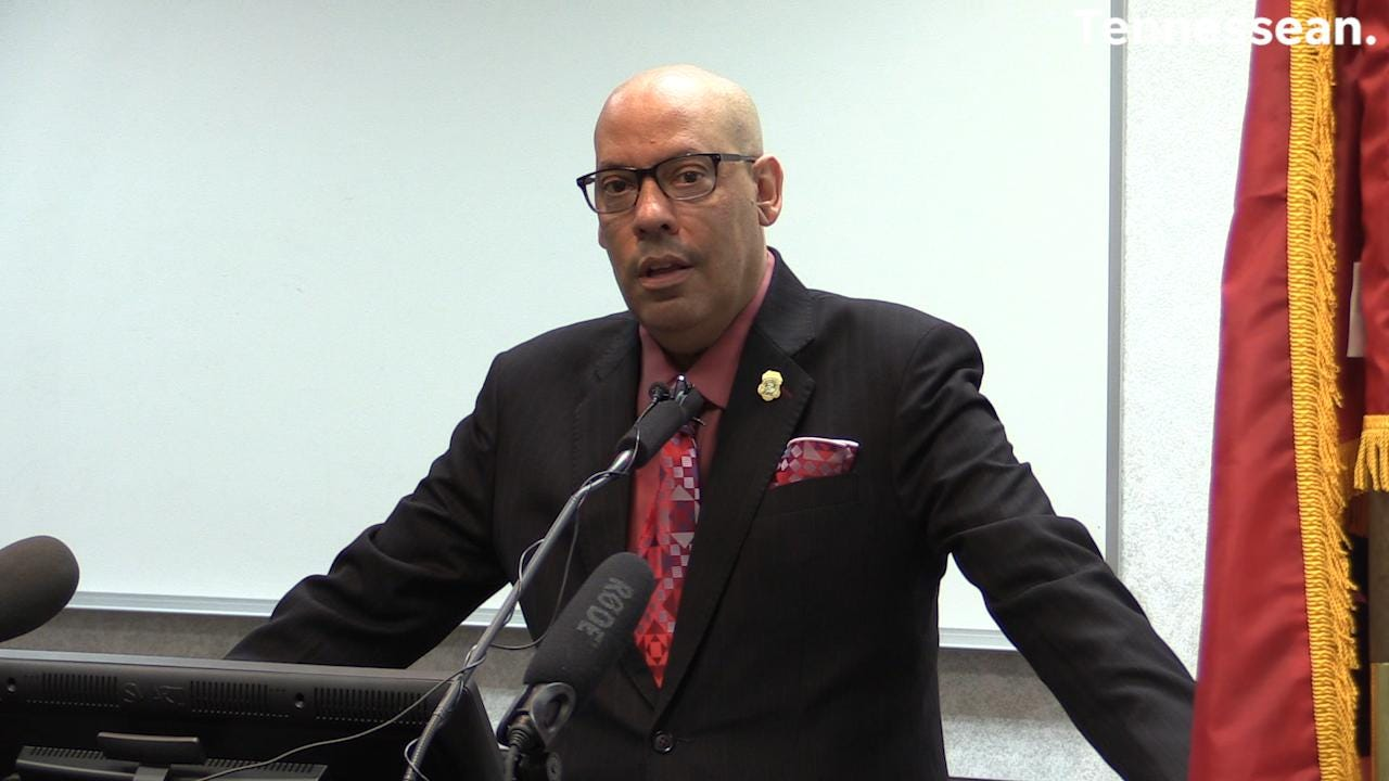 TBI director Mark Gwyn addresses his retirement announcement