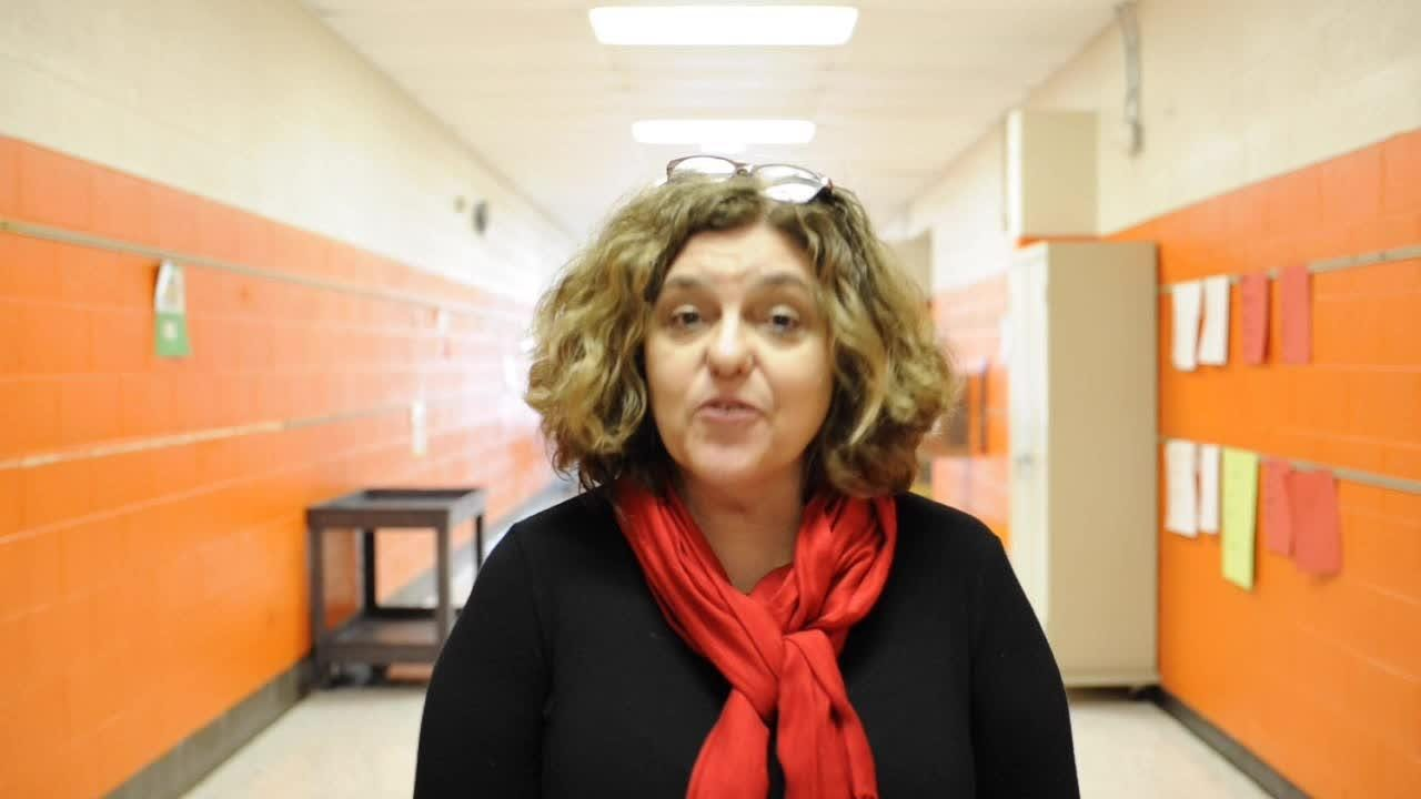 Spring Hill Elementary principal Beth Lackey talks about how her school has recovered from the flu on Wednesday, February 14, 2018.