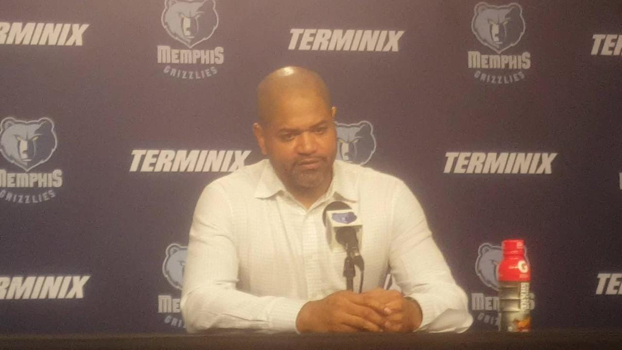 Grizzlies coach J.B. Bickerstaff describes the team's competitive nature following a loss to the Oklahoma City Thunder.