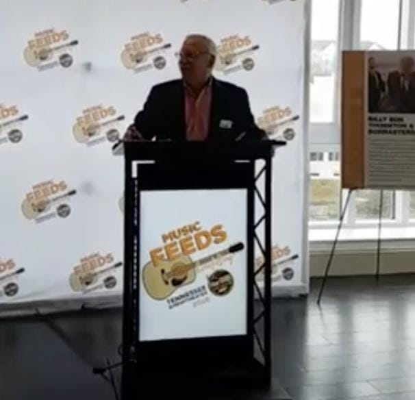 A new Knoxville concert series, Music Feeds, is being announced at the Tennessean Hotel.