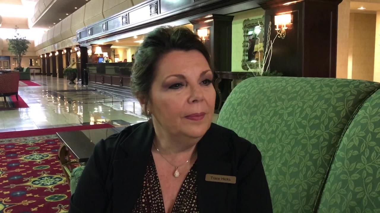 Knoxville Marriott general manager Tracy Hicks tells about being ready for major renovations
