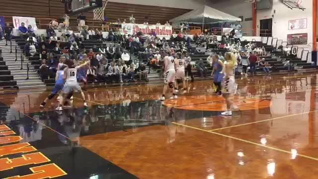 Heritage played Maryville in a district 4-AAA matchup at Lenoir City high school on Thursday night. The score at halftime was Heritage 26, Maryville 22 and the final score was Maryville 48, Heritage 45.