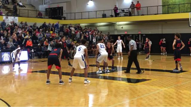 Lebanon advanced to the 9-AAA semi-finals with it's 75-65 win over Beech on Friday night.