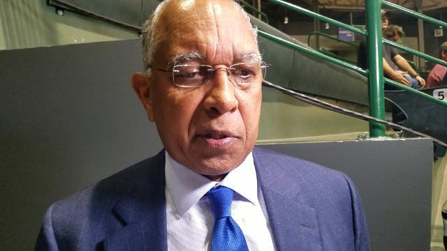 Memphis Coach Tubby Smith gives his thoughts on the key plays that decided the Tigers' win at Tulane.