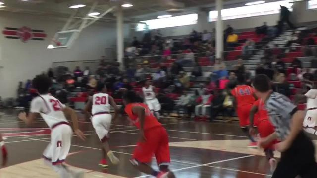 Hunters Lane claimed a third-place finish in District 12-AAA with Saturday's 80-76 consolation win over McGavock.