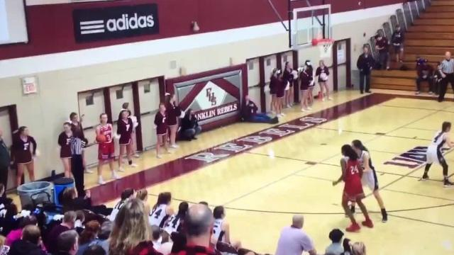 Franklin defeated Ravenwood 36-34 on a late steal and buzzer beater