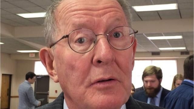 Sen. Lamar Alexander talks about a failed bill he supported as part of the Common Sense Coalition of senators that would have increased border security funding and provided pathway for DACA citizenship.