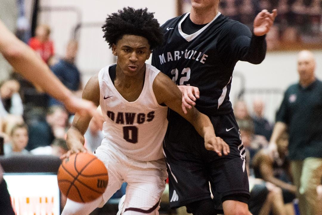Bearden boys take down Maryville in Division 4-AAA final at Lenoir City Tuesday, Feb. 20, 2018.