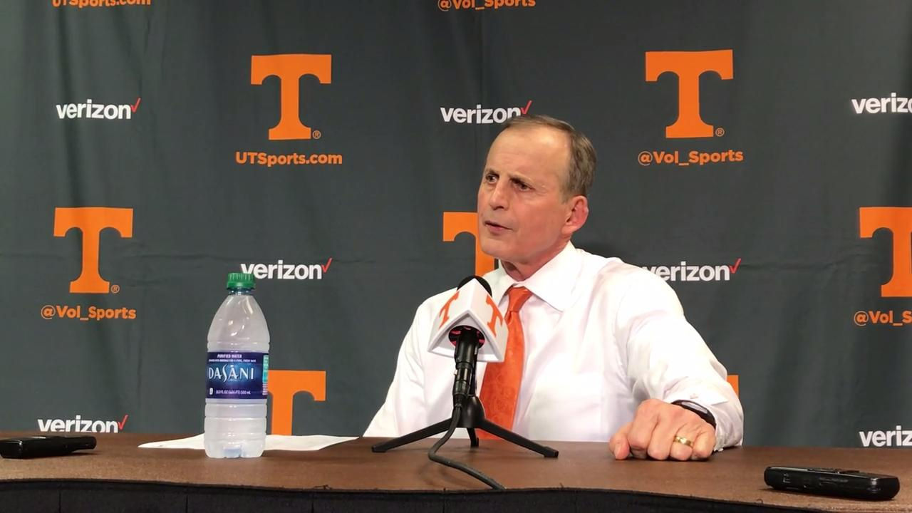 Rick Barnes: SEC is worthy of nine teams in NCAA Tournament