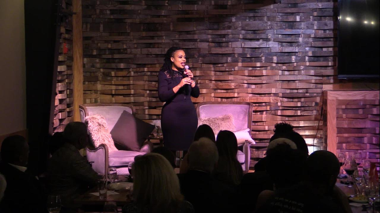 Laura Mimms tells her story at Nashville Storytellers