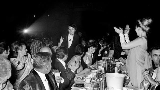 A look back at part of the 1968 Grammy Awards show happen in Nashville on the last day of February