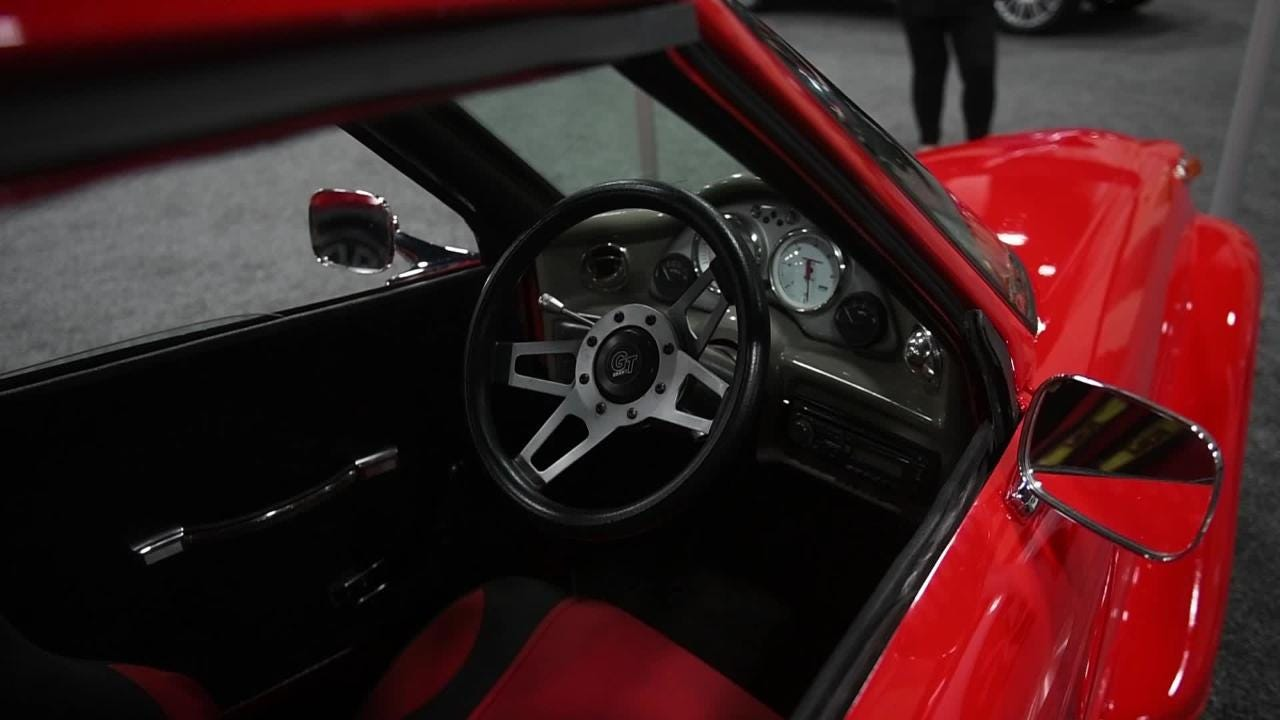 The Defiant Electric Roadster at the News Sentinel Auto Show