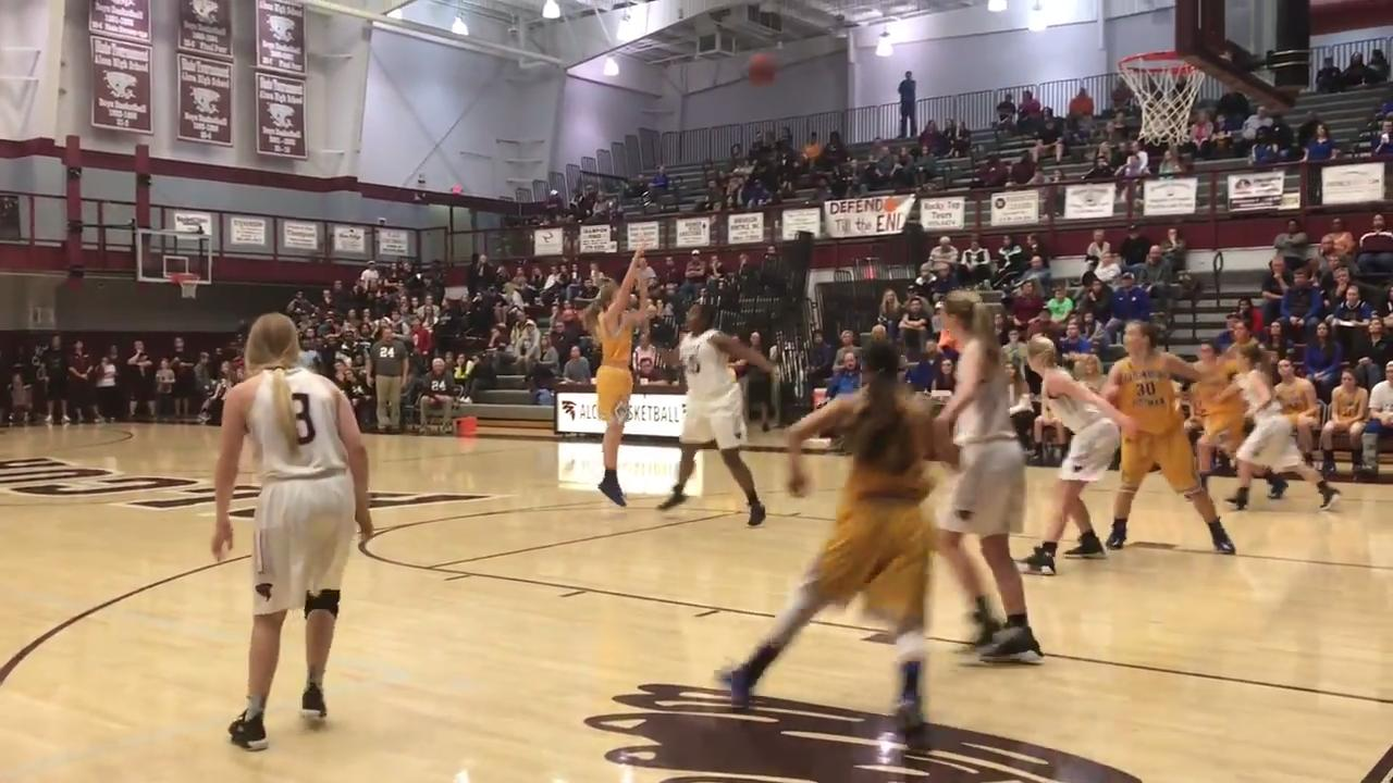 Girls basketball highlights: Alcoa vs Gatlinburg-Pittman