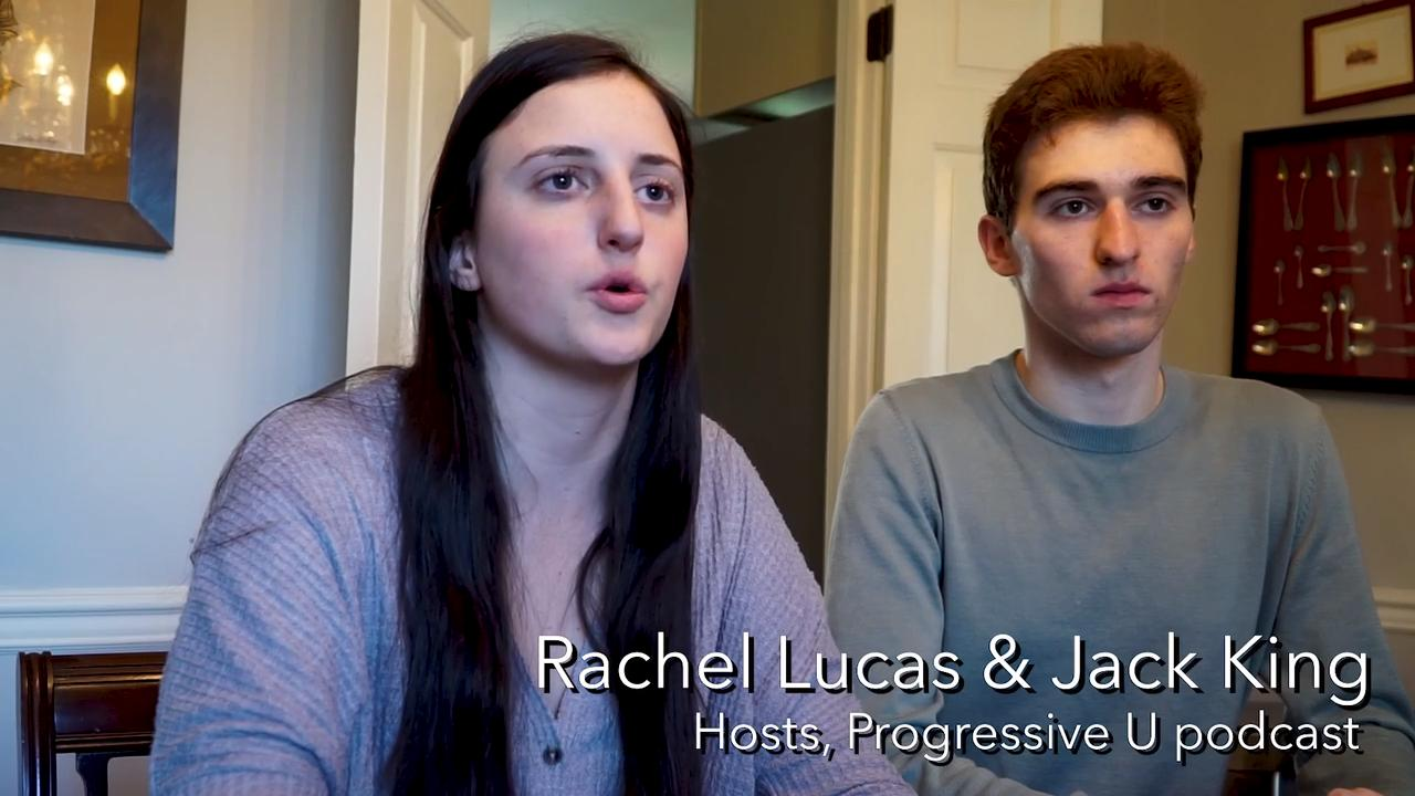 Webb High School seniors Jack King and Rachel Lucas have hosted a handful of Knoxville's notable politicians on their podcast Progressive U, which the pair founded in January and has used to help promote political engagement among students.