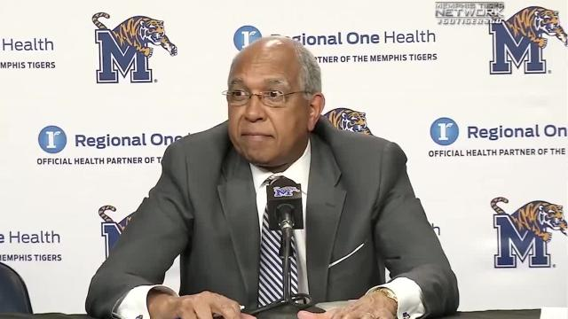 University of Memphis basketball coach discusses player transfers.