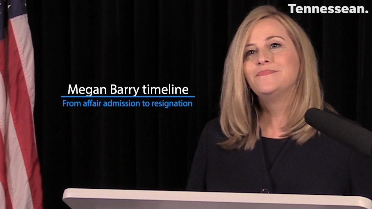 The downfall of Megan Barry: From affair admission to resignation