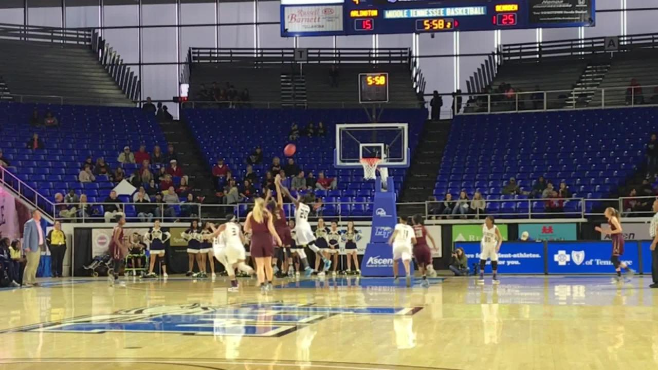 Girls basketball highlights: Bearden vs Arlington, state quarterfinal