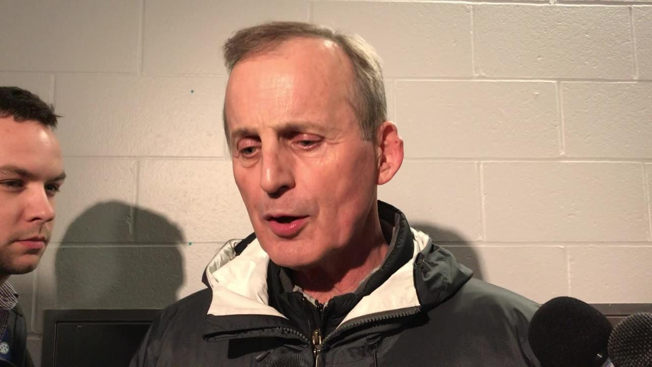 "Rick Barnes ""really happy"" for his players on NCAA tournament berth"