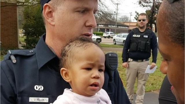 A 10-month-old girl was found safe Saturday morning, hours after her mother's car was stolen in Memphis, triggering an Amber Alert.