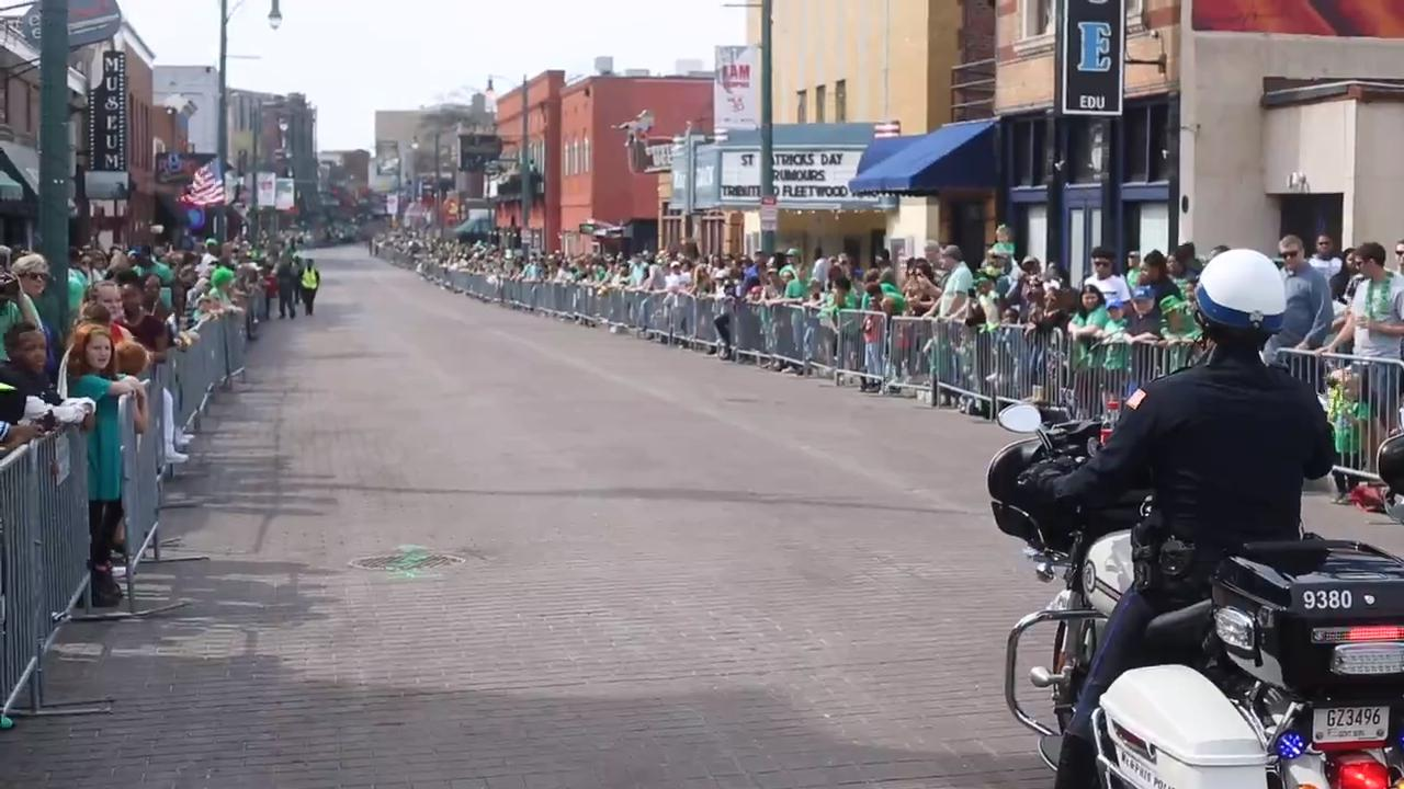 Thousands came out to enjoy the 45th Annual Silky O'Sullivan Beale Street St. Patrick's Day Parade.