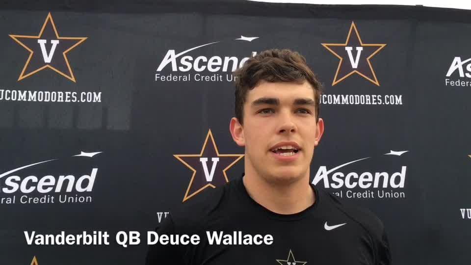Vanderbilt QB Deuce Wallace ready to play