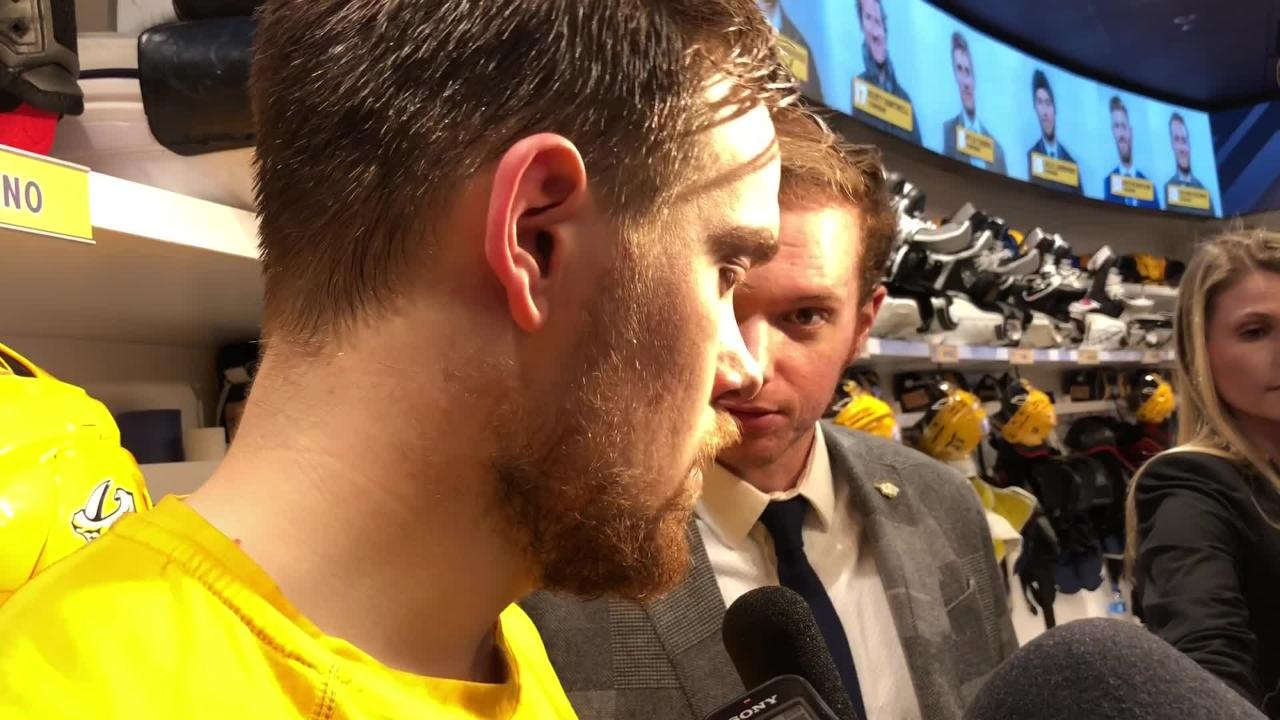 Predators' Viktor Arvidsson: 'We're not playing where we want to play'