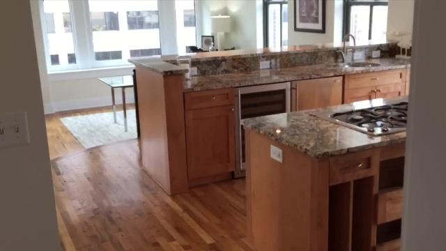 Owners of Downtown's Brodnax Building recently converted the apartments into condos. The one unsold unit is the penthouse, listed at $599,000.