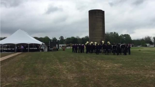 Groundbreaking ceremony for the 228-acre Silo Square mixed-use development in Southaven.
