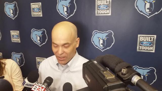 Grizzlies executive John Hollinger describes a predraft workout geared towards second-round picks.