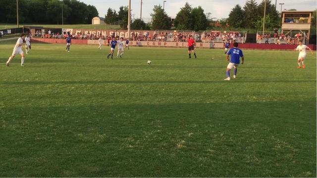 Station Camp defeated LaVerge in the Region 5-AAA semifinals 1-0 in double overtime on Tuesday night.