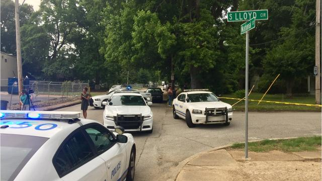 Two men are killed in a shooting on the 3600 block of S. Lloyd Circle.