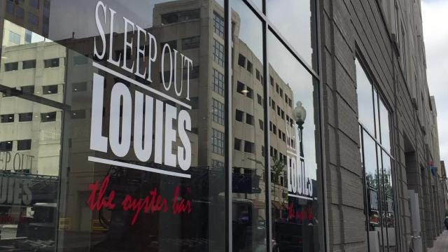 A fixture on the Downtown bar and restaurant scene from 1988 to 2007, Sleep Out Louie's has reopened in the former Peabody Place building.