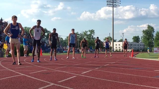 Watch how Jake Renfree captured the boys 1600 meter title on Thursday at Dean A. Hayes Stadium and other highlights.