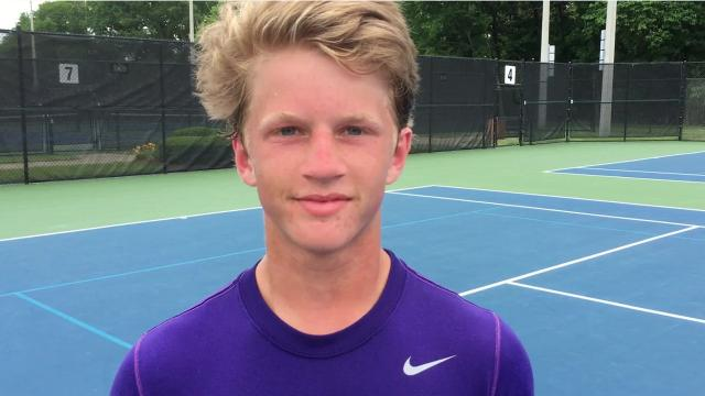 CPA freshman Nathan Irwin defeated Knoxville Webb's Harrison Williams, 4-6, 6-1, 7-6 (3) to claim the boys Division II-A singles title on Friday at Adams Tennis Complex.