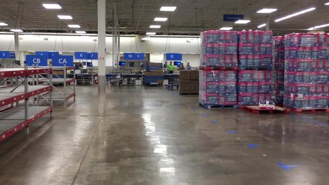 Sam's Club first regional e-commerce fulfillment center is operating in former Sam's Club at 1805 Getwell in Memphis.