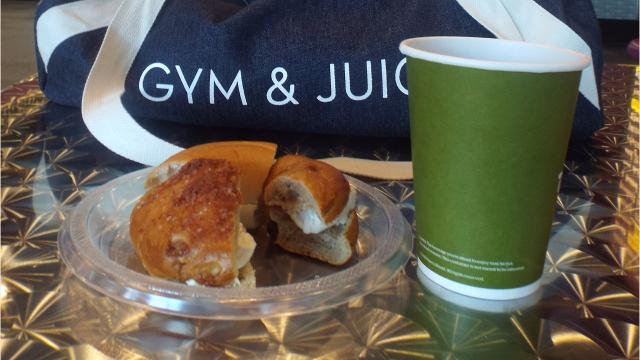The South Knox workout facility offers its members bagels and coffee on the second Tuesday of the month as an incentive to hit the gym in the early morning hours.