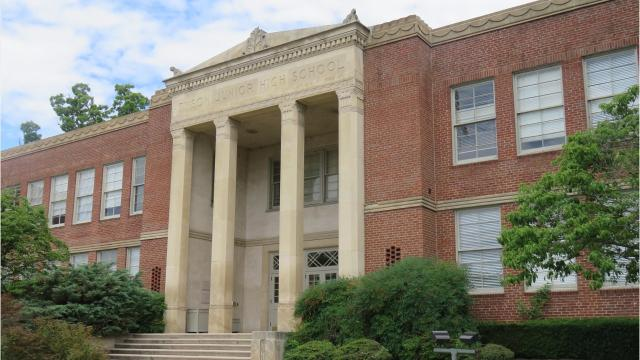 The old Tyson Jr. High School has been transformed into office space in a convenient Knoxville location.