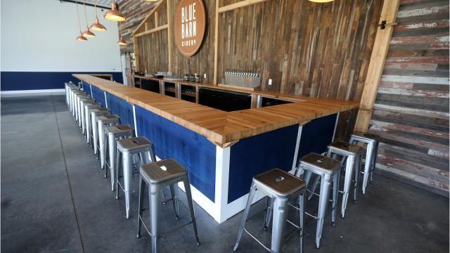 Massive Blue Barn Cidery opening in Greece