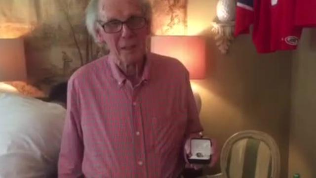 Mystery solved: Dick Gamble's ring returned