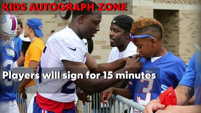 Bills Camp 2017 survival guide